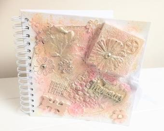 Handmade Memories Keepsake Photo Album Memory Book