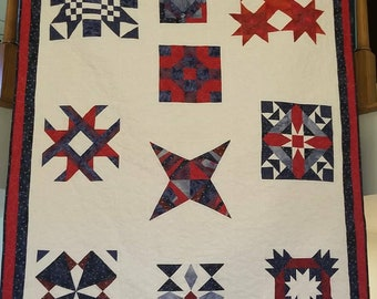 56x65 quilt made on my long arm HQ16 machine