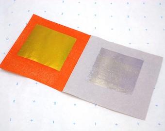 Joss Paper Gold & Silver Sheets