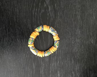 African vintage beads handcrafted bracelet