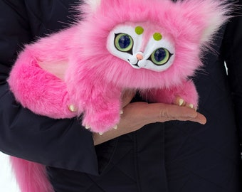 Pink cat in stock Free Shipping