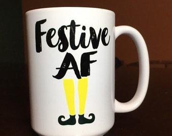 Festive AF Coffee Mug