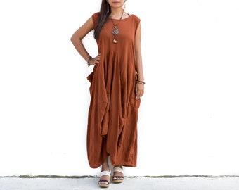 Bohemian Dress Women Maxi Gypsy Dress Tribal Boho Dress Long