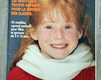Knit 3 Swiss - children (Vintage) magazine