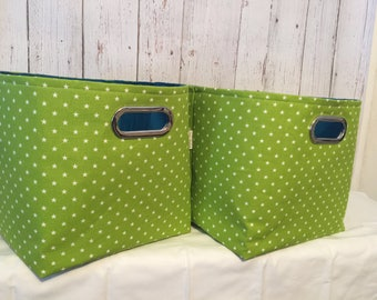 Closet Organizer Bin, Shelf Storage Bins, Fabric Storage Bins, Closet system, toy storage, Laundry basket, 12 X 13 X 12