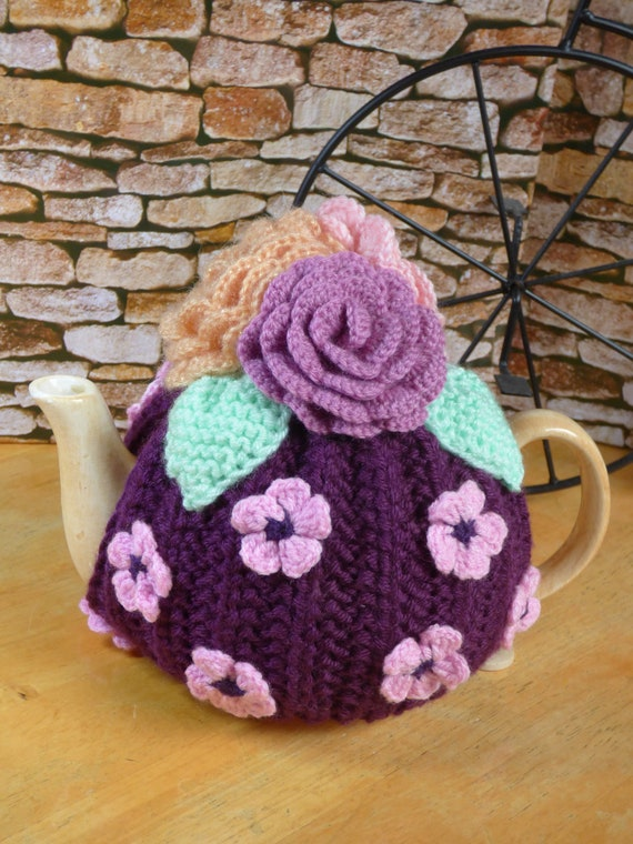Flowers teapot cosy easter gift knitted teapot cosy flowers teapot cosy easter gift knitted teapot cosy handmade teapot cosy teapot cozy knitted flowers negle Gallery