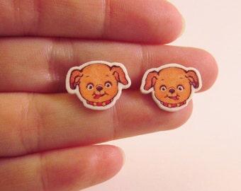 Dolly Dingle Puppy Earrings