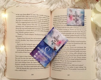 All my Friends are Fiction | Mini Magnetic Bookmark!
