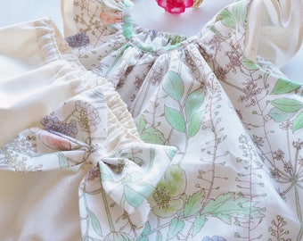 Girl Baby Dress Bloomer Set, Baby Summer Dress, Toddler Dress, Baby Floral Dress, Spring Dress, Easter Dress, Baby shower, Garden Wedding