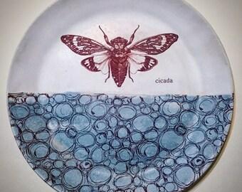 """Lg. 12"""" Cicada Platter"""