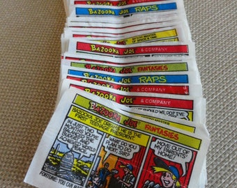 Bazooka Joe Bubble Gum Comics  Value 1 1990
