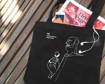 Artist Illustration Everyday Tote Bag / HIM: ICY POP