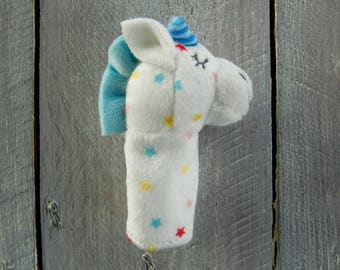 Unicorn: finger puppet