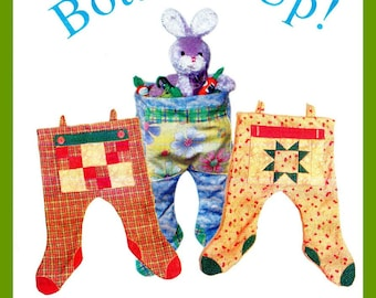Two Footed Christmas Stocking Pattern - FREE Domestic Shipping