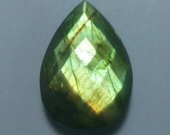 Labradorite Pear Shape Faceted Briolette 25 MM