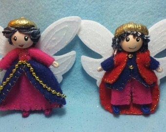 fairy King & Queen Red Thorn
