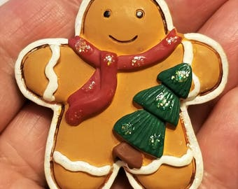 CH-114, A Fat, Little Christmas Gingerbread Man, One of the Cutest I've Come Across