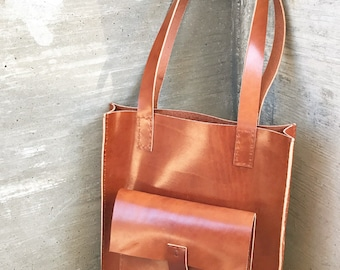 Langston Leather Tote