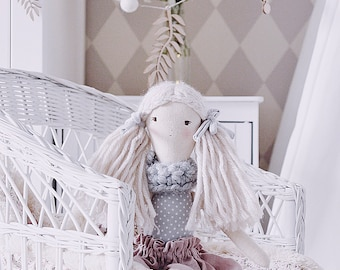 Textile Nila Doll, Handmade Doll, Rag Doll,