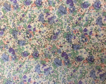 Fabric pattern Claire Aude, liberty of London. Please note: special edition