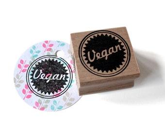 Vegan stamp