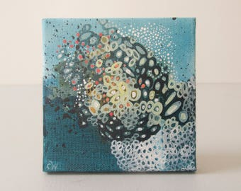Thirty: Small Original Biological Painting