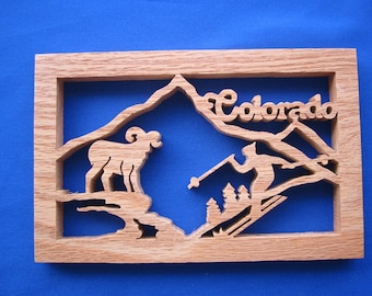 State of Colorado Wall Hanging