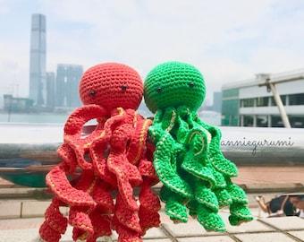 Ready To Ship: Octopus of Hong Kong Amigurumi