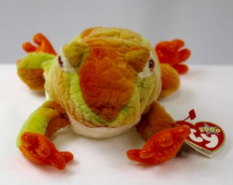 Prince Frog Beanie Baby