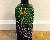 Lighted Spider Web Bottle...