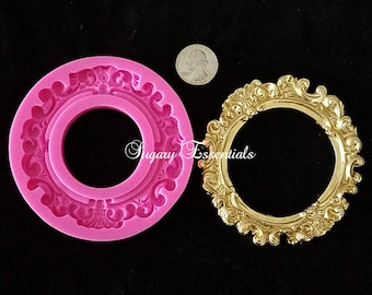 Large Round Frame Mold