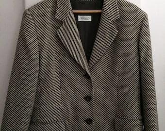 Women's Clothing / Missoni Wool Jacket / 1980's Designer Clothing / Vintage Missoni Blazer