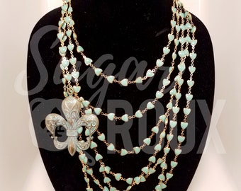 Turquoise Necklace   Bourbon Street