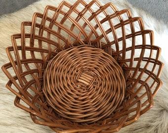 Vintage Unique Wicker Basket