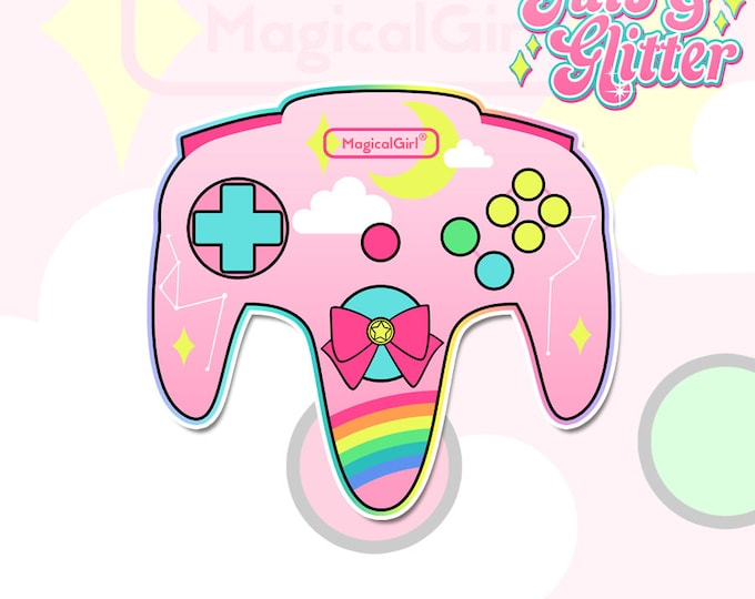 Magical Girl Controller Holographic Sticker