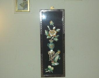Vintage Multi Color Floral Image Picture