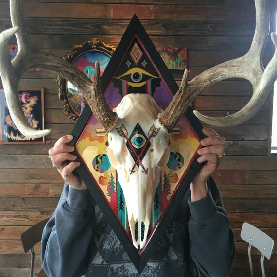 Mind over Matter || Mounted Deer Skull
