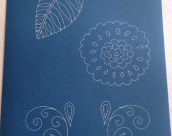 Silkscreen by Moiko, a beautiful crisp designs perfect for silkscreening on polymer clay