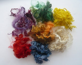 Heidifeathers Curly Wool Mix - 7 Different colours