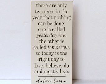 Dalai Lama Quote, Wood Sign, Wooden Sign, Inspirational Wall Quote, Dalai Lama Wall Quote, Farmhouse Style, Rustic Wood Sign, Cottage