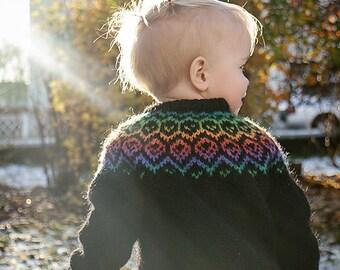 Rainbow Lopi Sweater
