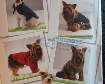 Simplicity 2695, Dog Clothes Pattern