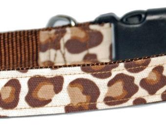 Leopard Love Dog Collar