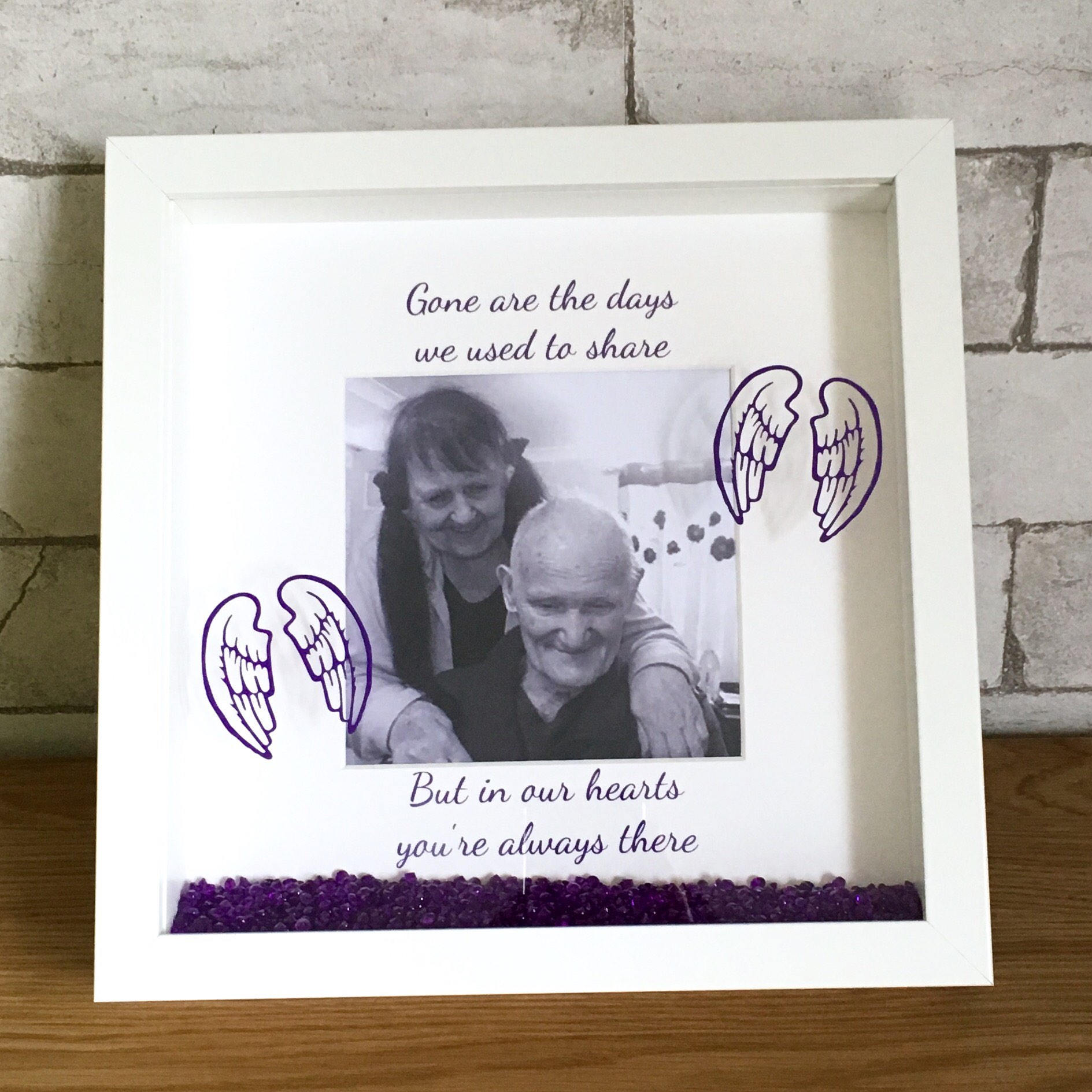 Photo remembrance frame loss of parents grandparents loved one sold by beckifoundsometime jeuxipadfo Choice Image