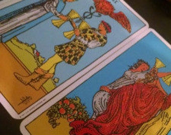 Cups Water Suit Element Minor Arcana Spread Tarot Card Reading - 3 Cards