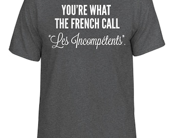 Funny Home Alone You're What The French Call Les Incompetents Christmas T-Shirt Gift Tee All Sizes Mens Ladies Gift Movie Film Retro Classic