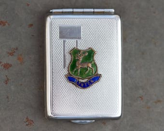 Business Card Holder - Small Case - Souvenir from Lynton - Made in England