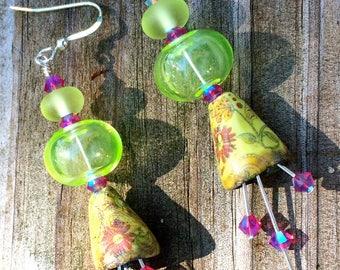 Saffron Kissed Earrings