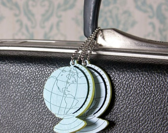 Vintage Globe Pin