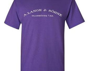 A.Lange & Sohne Purple T-Shirt